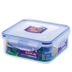 Lock & Lock Square Container - 870ml